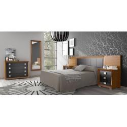 Dormitorio Nova 6, Cabecero Nova tapizado.